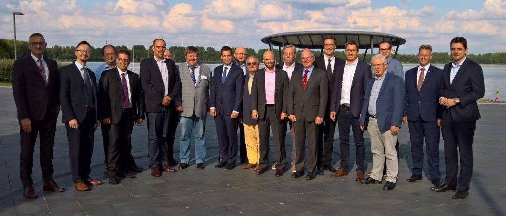 Europäischer Gedankenaustausch zwischen der VVD Limburg und Freien Demokraten aus der Euregio