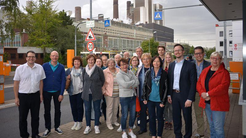 Besuch des Kraftwerks Weisweiler am 07.09.2017