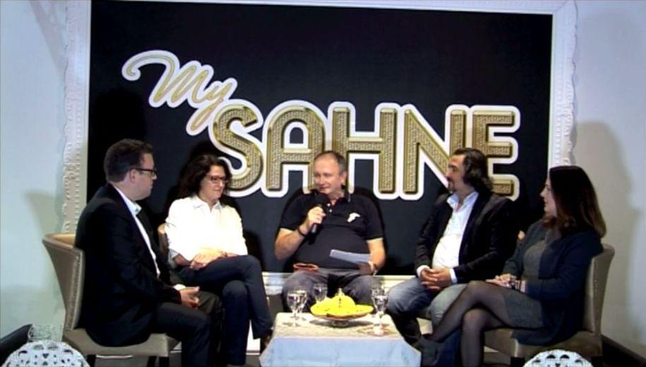 """Frank Schniske in der Talkshow """"My Sahne"""" bei NRWtv Aachen"""
