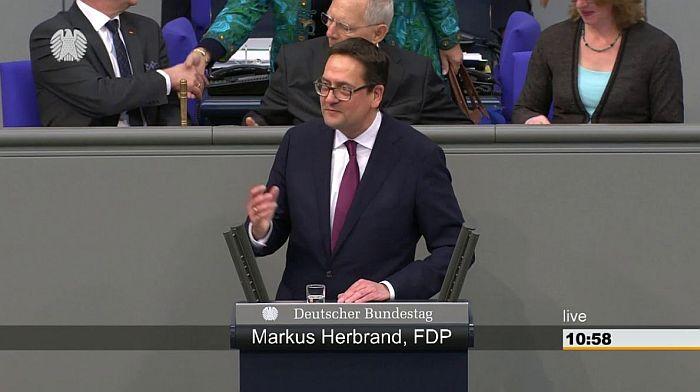 Markus Herbrand, MdB