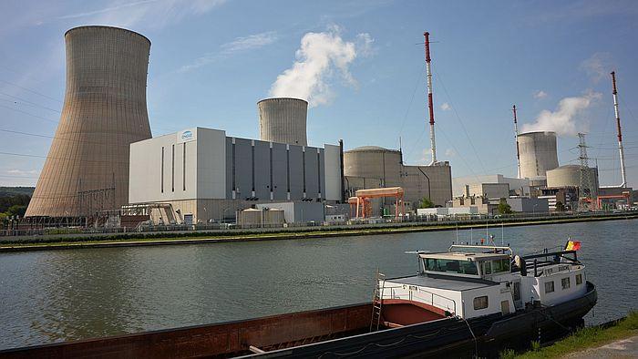 Kernkraftwerk Tihange bei Huy