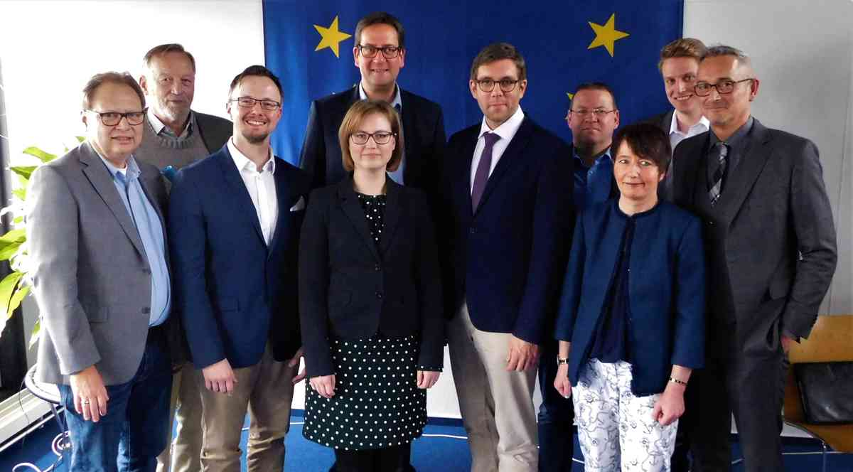 FDP-Bezirksparteitag im Eurode-Business-Center