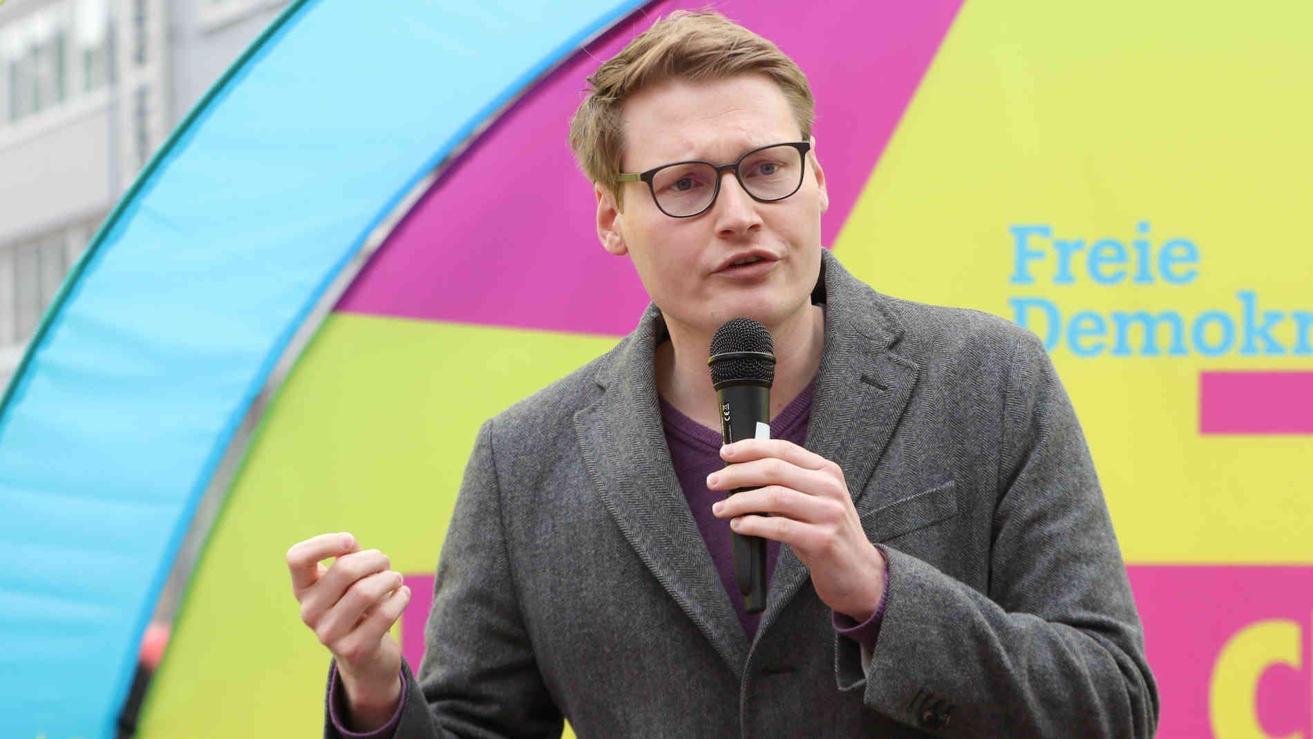 Europawahl: Liberale machen Wahlkampf in Aachen