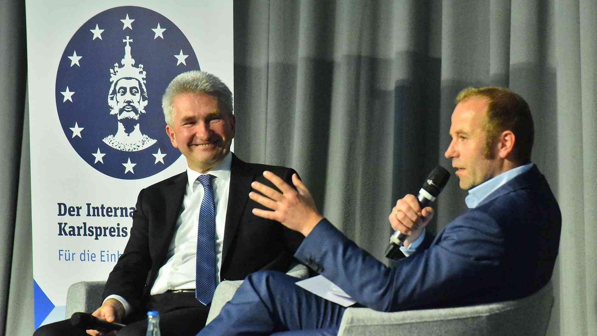 Karlspreis-Forum: Spitzenpolitiker stellen ihre Visionen für die Zukunft der EU vor