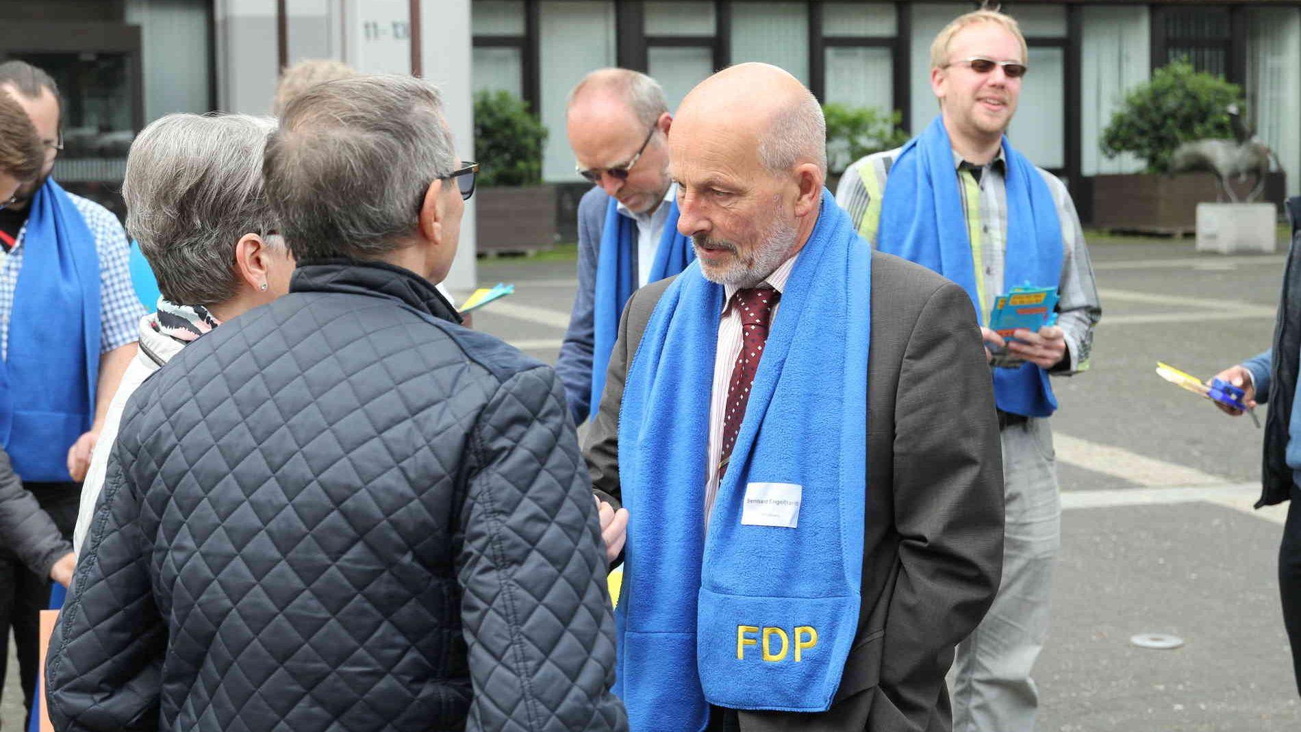 Bernd Engelhardt bewirbt sich um das Bürgermeisteramt in Stolberg