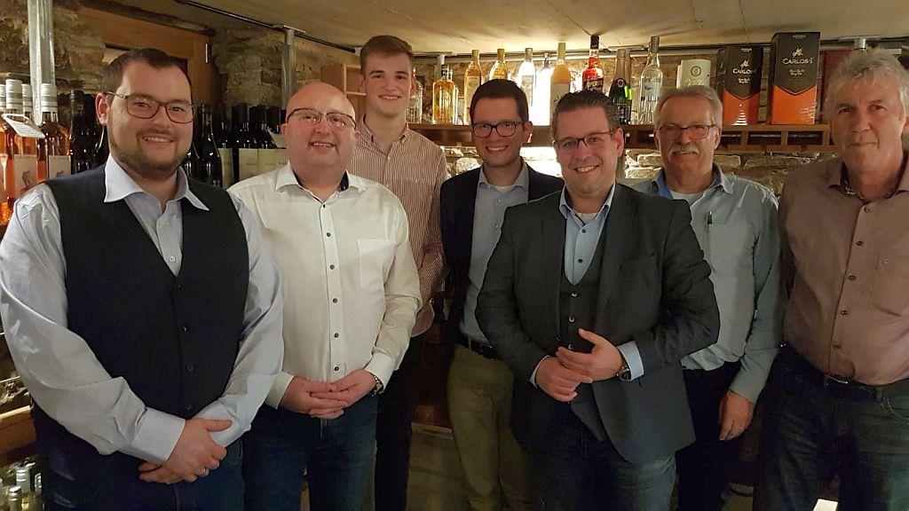 Ortsparteitag der Liberalen in Simmerath mit ihrem Bürgermeisterkandidaten Benjamin Steinborn