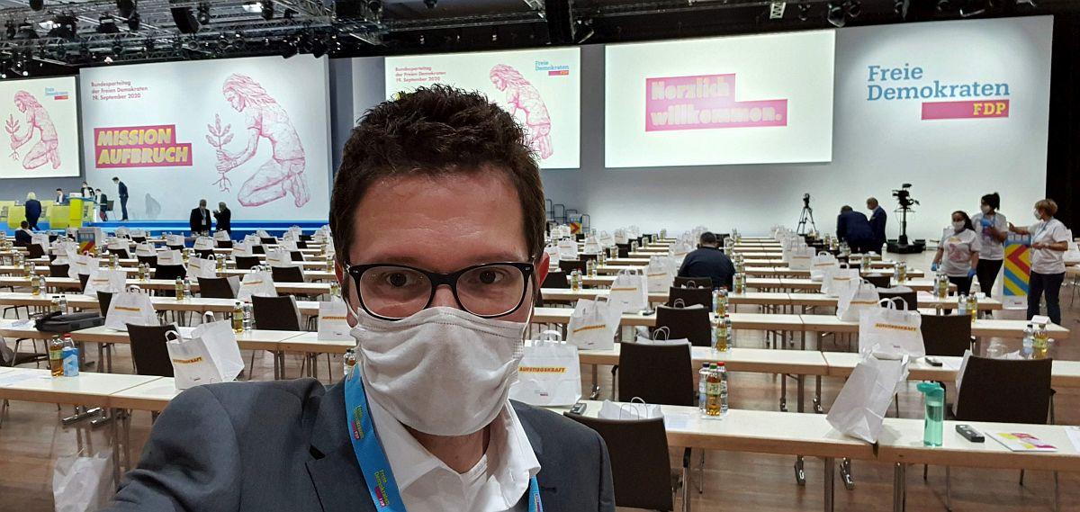 Ungewohnter Bundesparteitag in Berlin