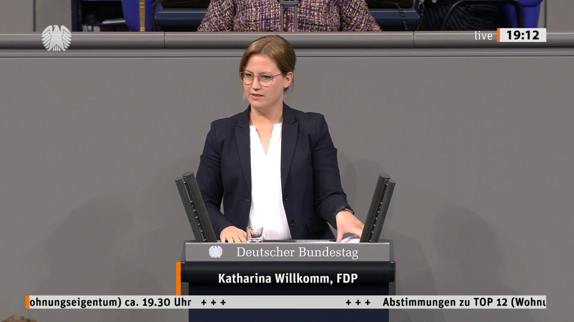 Katharina Willkomm, MdB