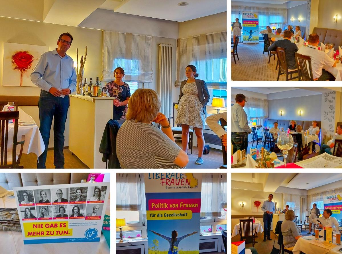 Gespräch mit Markus Herbrand MdB und Laura Jacobsen-Littig