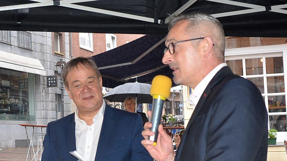 Ministerpräsident Laschet lobt Zusammenarbeit mit der FDP