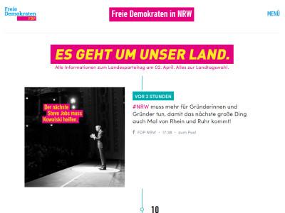 FDP-Landesband Nordrhein-Westfalen