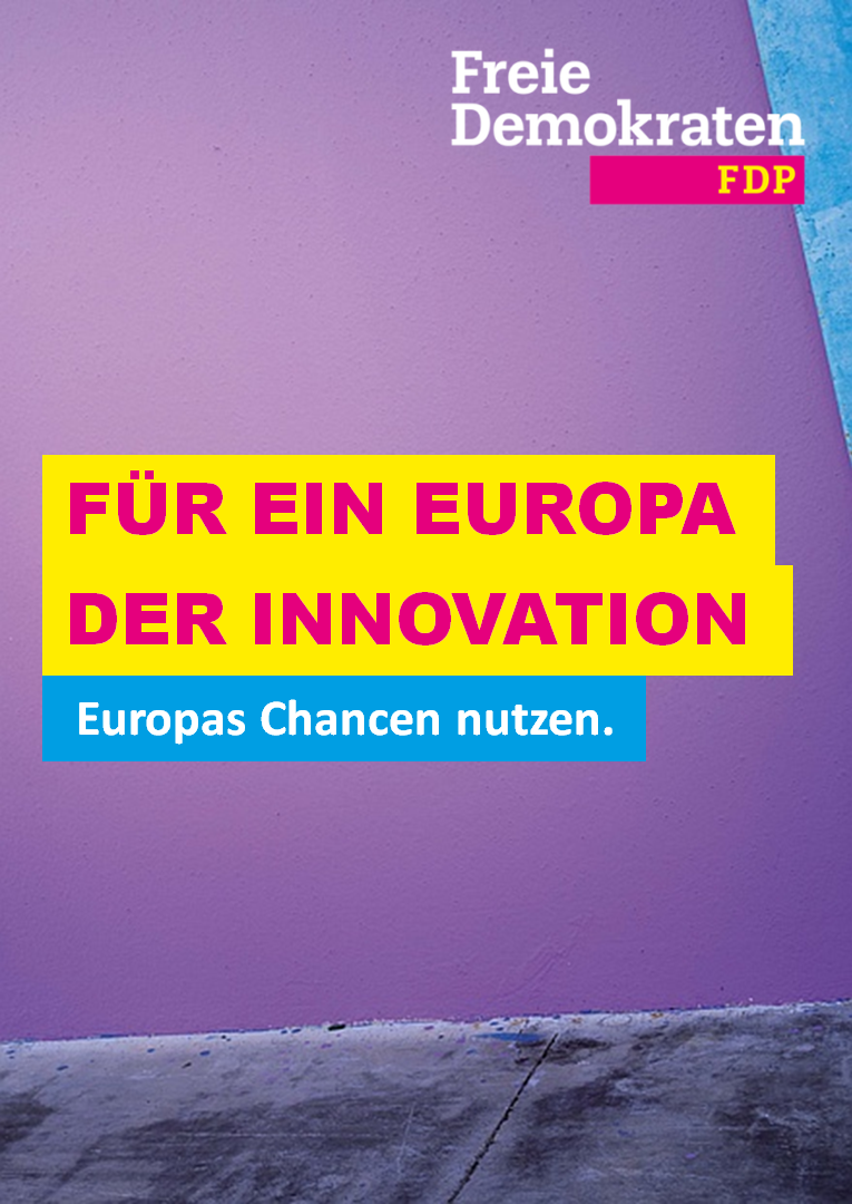 Für ein Europa der Innovation
