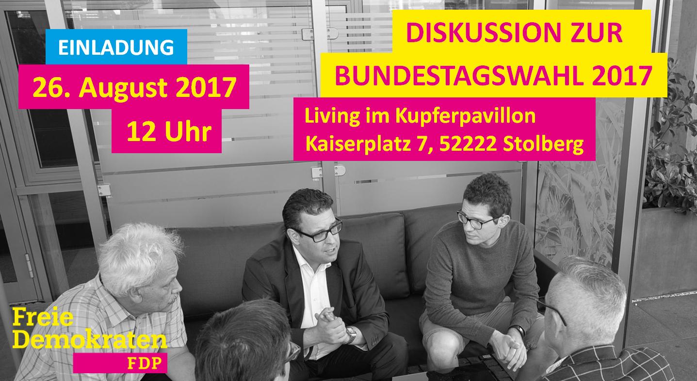 FDP Stolberg lädt ein zur Diskussion
