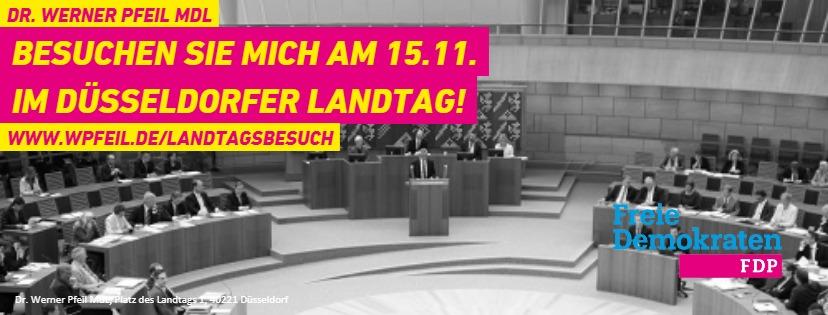 Landtagsbesuch