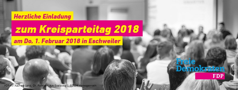 Kreisparteitag 2018