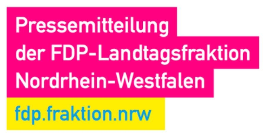 Pressemitteilung der FDP-Landtagsfraktion Nordrhein-Westfalen